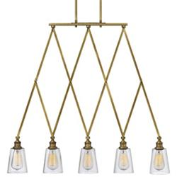Gatsby 5-Light Linear Suspension