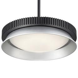 Gizmo LED Flushmount/Pendant (Black) - OPEN BOX RETURN