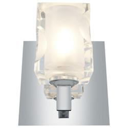 Glasie Square Crystal Wall Sconce