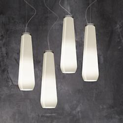 Glass Drop Pendant (White) - OPEN BOX RETURN