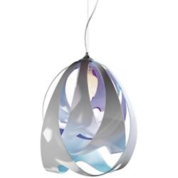 Goccia Pendant (Opal/Chrome) - OPEN BOX RETURN