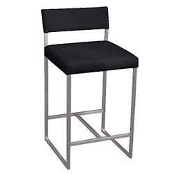 Graph Stool (Coal/Stainless Steel) - OPEN BOX RETURN