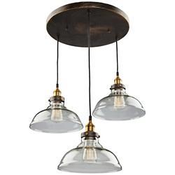 Greenwich Dome Multi Light Pendant