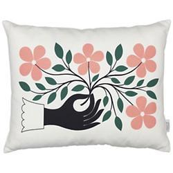 Hand Graphic Pillow (Multicolor) - OPEN BOX RETURN