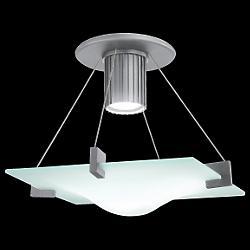 Handkerchief Semi-Flushmount