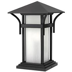 Harbor Pier Mount (Satin Black/LED) - OPEN BOX RETURN