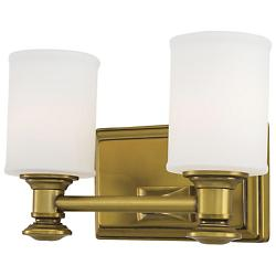 Harbour Point Bath Bar (Gold/2 Lights) - OPEN BOX RETURN