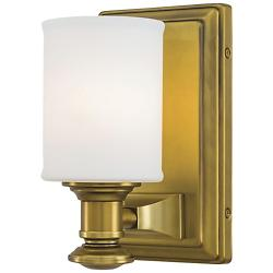Harbour Point Wall Sconce (Liberty Gold) - OPEN BOX RETURN