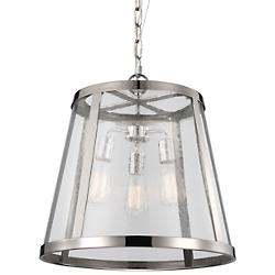 Harrow 3-Light Pendant (Polished Nickel) - OPEN BOX RETURN