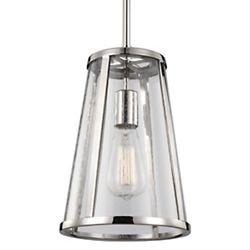 Harrow Mini Pendant (Polished Nickel/LED) - OPEN BOX RETURN