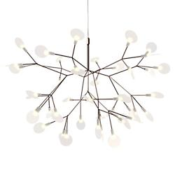 Heracleum II Small LED Chandelier (Nickel) - OPEN BOX RETURN