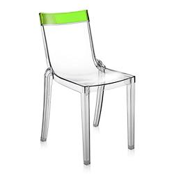 Hi Cut Chair (Transparent Green/Transparent) - OPEN BOX