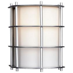 Hollywood Hills Outdoor Small Flush Wall Sconce