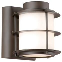 Hollywood Hills Outdoor Wall Sconce (Bronze/SM) - OPEN BOX