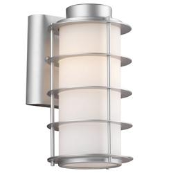 Hollywood Hills Outdoor Wall Sconce (Silver/LG) - OPEN BOX