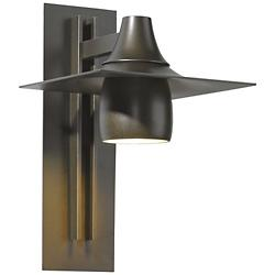 Hood Coastal Outdoor Tall Dark Sky Wall Sconce