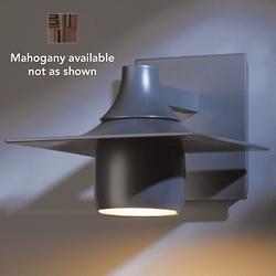 Hood Outdoor Dark Sky Wall Sconce (Mahogany) - OPEN BOX