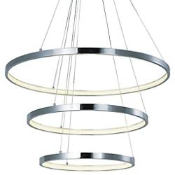 Hoops LED 3-Tier Pendant