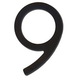 House Numbers (Satin Black/Nine/8 Inch) - OPEN BOX RETURN