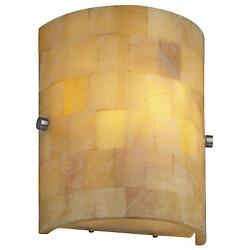 Hudson Flush Wall Sconce (Onyx Mosaic) - OPEN BOX RETURN