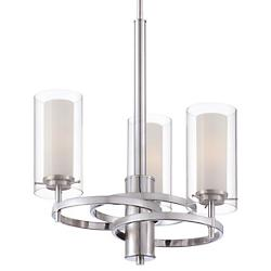 Hula Chandelier (Nickel/3 Lights) - OPEN BOX RETURN