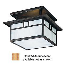 Huntington Semi-Flushmount (Bronze/Gold/Small) - OPEN BOX