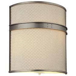 I Beam Flush Wall Sconce (Gun Metal) - OPEN BOX RETURN