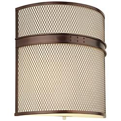 I Beam Flush Wall Sconce (Merlot Bronze) - OPEN BOX RETURN
