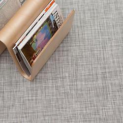 Ikat Floor Mat (White/Silver/35 in x 48 in) - OPEN BOX