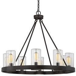 Inman 8-Light Outdoor Chandelier
