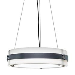 Invicta 16355 24-Inch LED Drum Pendant