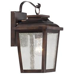 Irvington Manor Outdoor Wall Sconce (Bronze) - OPEN BOX
