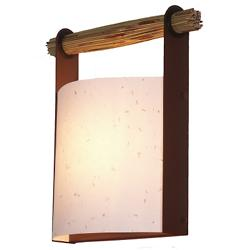 Japanese Lantern Wall Sconce