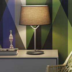 Jerry Table Lamp (Stone Grey/Nickel/Small) - OPEN BOX RETURN