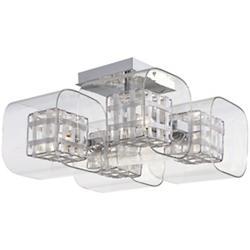 Jewel Box Semi-Flushmount