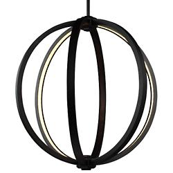 Khloe LED Pendant (Bronze/Small) - OPEN BOX RETURN