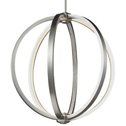 Khloe LED Pendant (Satin Nickel/Small) - OPEN BOX RETURN