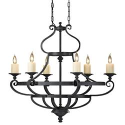 King's Table Linear Chandelier