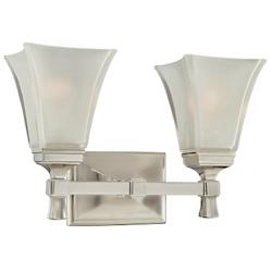 Kirkland Bath Bar (Satin Nickel/2 Lights) - OPEN BOX RETURN