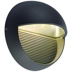 LED Downunder Round Outdoor Wall Sconce