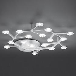 LED Net Circle Ceiling Light (Aluminum) - OPEN BOX RETURN