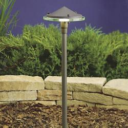 Landscape LED Glass and Metal Path Light