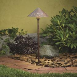 Landscape LED Hammered Roof Path Light