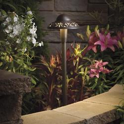 Landscape LED Pierced Dome Path Light