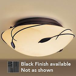 Leaf Flushmount - Large (Black/Stone) - OPEN BOX RETURN