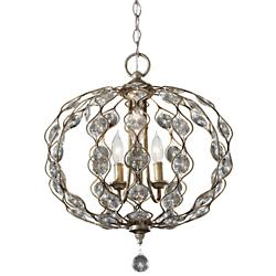 Leila Chandelier (3 Lights) - OPEN BOX RETURN
