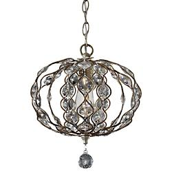 Leila Pendant (Burnished Silver) - OPEN BOX RETURN