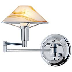 Lighting for the Aging Eye Swing Arm Wall Sconce