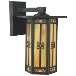 Lily Outdoor Wall Sconce