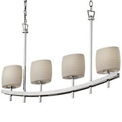 Limoges Archway 4-Uplight Linear Suspension